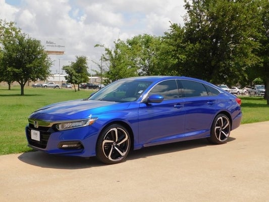 Used 2019 Honda Accord Sport 2 0t For Sale In Denison Tx Classic Honda Of Texoma
